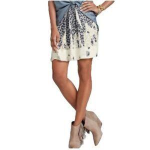 CAbi | Size S Bella Leopard Print Skirt Style #401